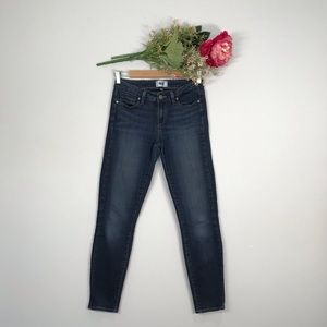 Paige | Verdugo Ankle Low Rise Skinny Jeans SZ27